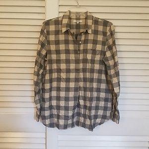 NWT Madewell Top button Shirt